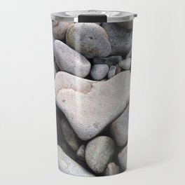 Heart Shaped Rock Travel Mug