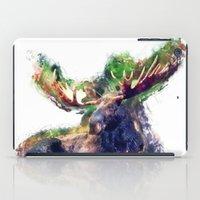moose iPad Cases featuring Moose by jbjart