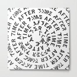 for clocks - experiment - april/27 Metal Print