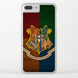 HOGWARTS-POTTER Clear iPhone Case
