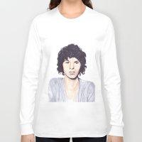 luke hemmings Long Sleeve T-shirts featuring Luke by Daniela Herodesová