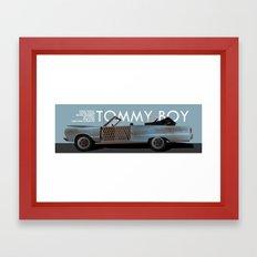 Tommy Boy Framed Art Print