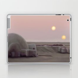 Twin Suns Dessert Laptop & iPad Skin