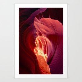 Heart of the Desert Art Print