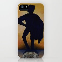 The Princely Frog iPhone Case