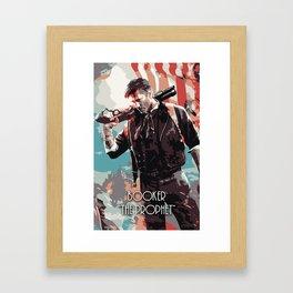 Booker The Prophet Framed Art Print