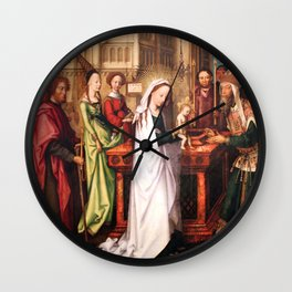 Presentation of Jesus at the Temple Wall Clock