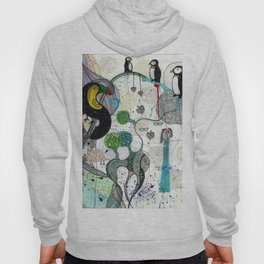 """""""Toucan and penguins"""" Hoody"""