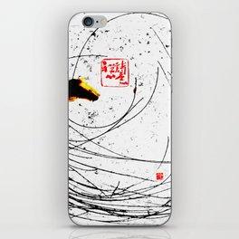 Fallen Flowers iPhone Skin