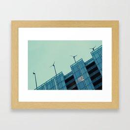 Indigo Wind Framed Art Print