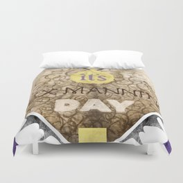 It's Rex Manning Day! (Empire Records) Duvet Cover