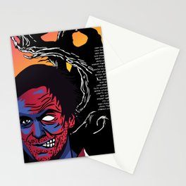 Murderous Man Stationery Cards
