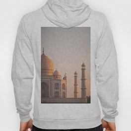 Taj Mahal At Sunset Hoody