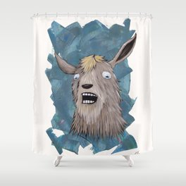 Goats That Scream Like People Shower Curtain