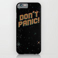 Don't Panic! Pixel Art Slim Case iPhone 6s