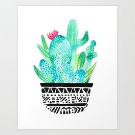 Pot Me A Cacti! Art Print