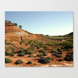Lark Quarry - Outback Australia Canvas Print