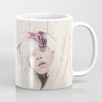 chandelier Mugs featuring Chandelier by Dibujados