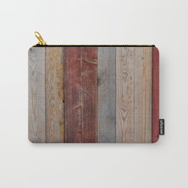 Decorative wood wall Carry-All Pouch