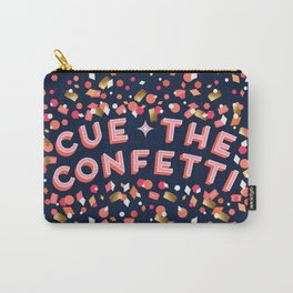 Cue the Confetti – Navy Palette Carry-All Pouch