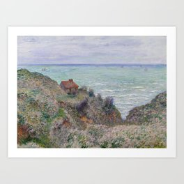 Monet - Cabin of the Customs Watch, 1882 Art Print