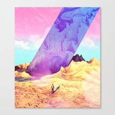 Oblique Plane Canvas Print