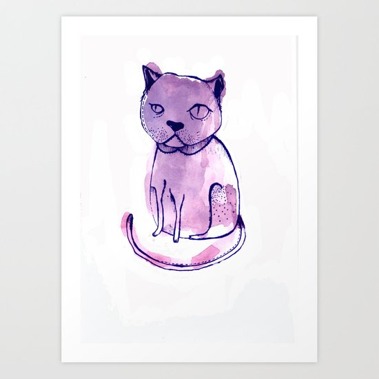 Are You Kitten Me?! Art Print