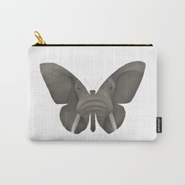 Elephant Butterfly Carry-All Pouch