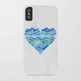 A Sea of Love (white) iPhone Case