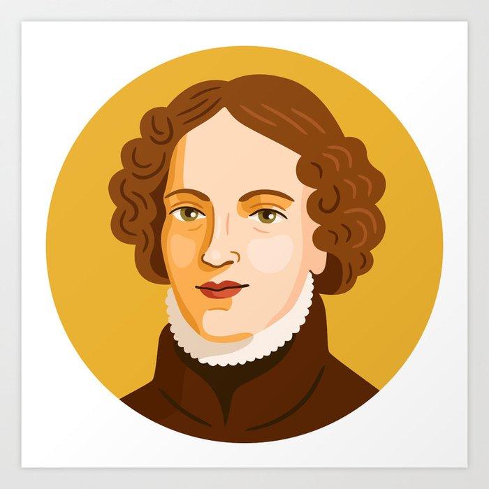 Queer Portrait - Anne Lister Art Print