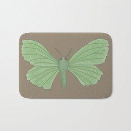 Emerald Moth Bath Mat