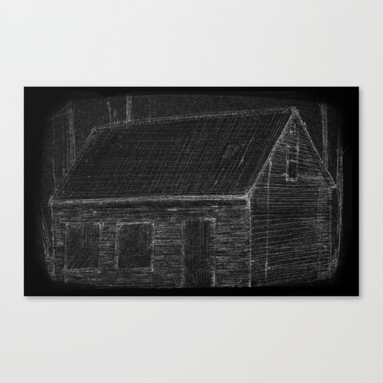 """The Mathers House"" by Matthew Vidalis Canvas Print"