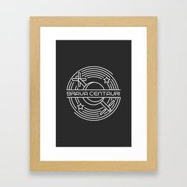 Brava Centauri Framed Art Print