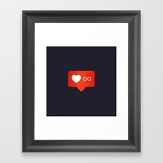 People Person Framed Art Print