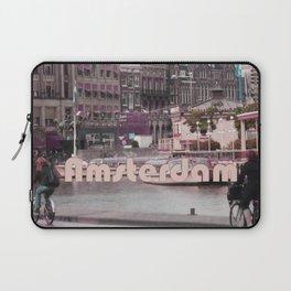 Bike Ride in Amsterdam Laptop Sleeve