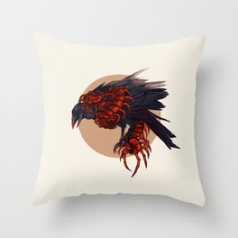 CYCLE OF SHADES - PORTENTS Throw Pillow