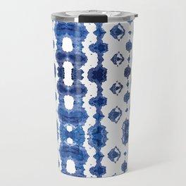 Shibori Habatoi Ikat Travel Mug