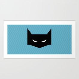 SUPER HEROS Art Print