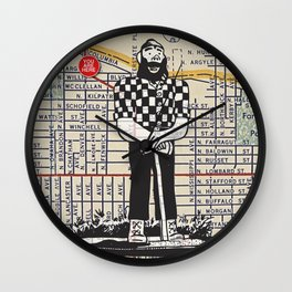 Paul Bunyan, North Denver at Interstate Avenue, You Are Here, Portland. Wall Clock