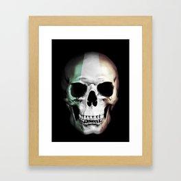 Irish Skull Framed Art Print