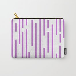 Minimalist Lines - Violet Carry-All Pouch