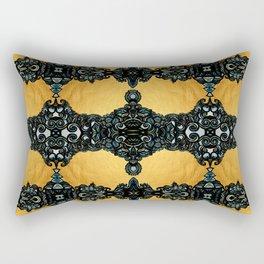 Golden fleece Rectangular Pillow
