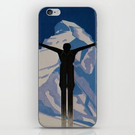Vintage Zermatt Switzerland Travel iPhone Skin