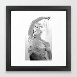 Marilyn's Scar Framed Art Print