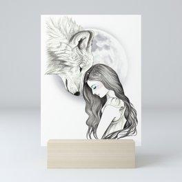 Harvest Moon Mini Art Print