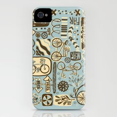 Here to There, Near or Far, This Way or That Slim Case iPhone (4, 4s)