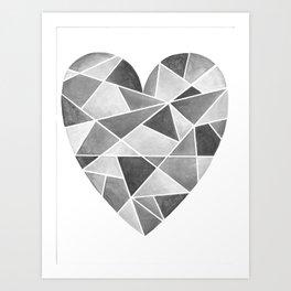 Heart 39 Art Print