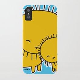 Lion Hug iPhone Case