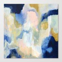 Canvas Prints featuring Nuve by Patricia Vargas