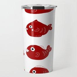 Lucky fishies Travel Mug